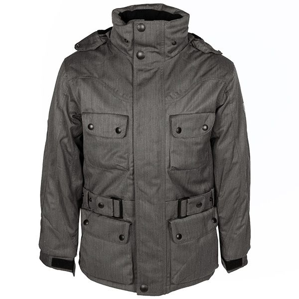 Wellensteyn Herren Jacke / Form: Motoro / Farbe: grau-beige / aus dem Wellensteyn Online Shop