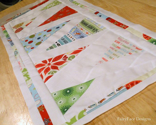Minimalist trees Christmas table runner: 18 Christmas, Minimalist Christmas, Christmas Table Runners, Christmas Tables Runners, Cottages Christmas, Tablerunn, Christmas Runners, Christmas Trees, Christmas Quilts Runners Etc