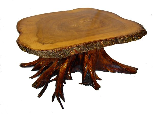 Stump Slab Table Google Search Furniture Live Edge