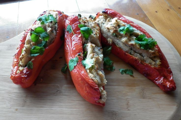 Amazing stuffed bullhorn chillies want this recipe?? then download Julz's Kitchen today on Amazon, Barnes & Noble, Google Play, Kobo, Itunes