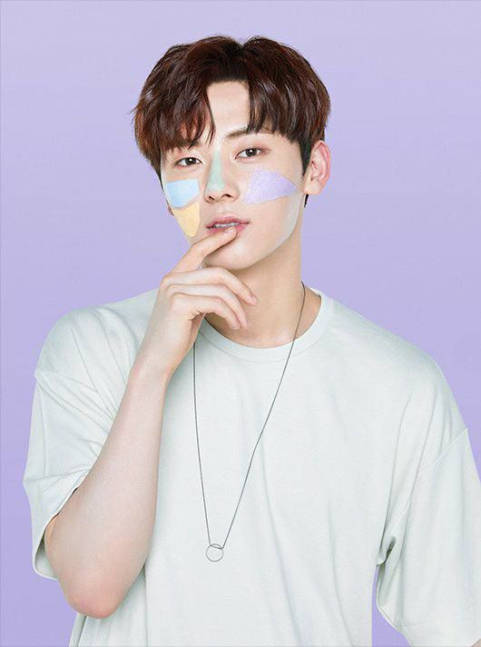 Hwang minhyun for innisfree mask