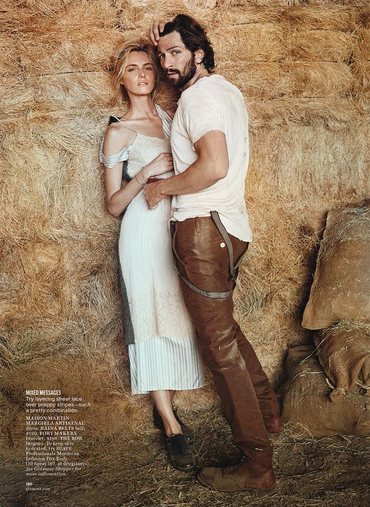visual optimism; fashion editorials, shows, campaigns & more!: field of dreams: valentina zelyaeva and michiel huisman by will davidson for glamour august 2014