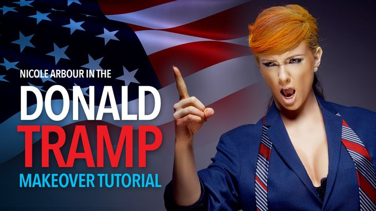 Donald Tramp Makeover