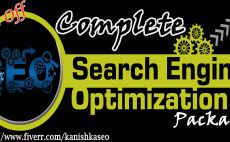 do Full SEO Package to get ranked on google
