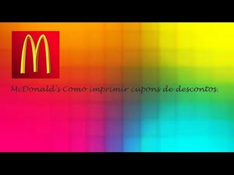 McDonald's Cupons de Descontos Aproveite Para Pagar Menos em Vários Prod...