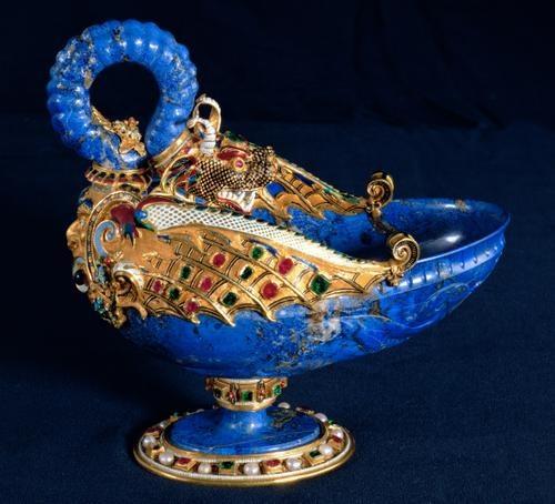 Dragon bowl with handle  Gasparo Miseroni, ca. 1565/1570Mit Handhab, Handhab Gasparo, Dragons Bowls, Drachenschal Mit, Handles Gasparo, Ancient Vintagee, Antiques Archeology, Um 1565 1570, Gasparo Miseroni