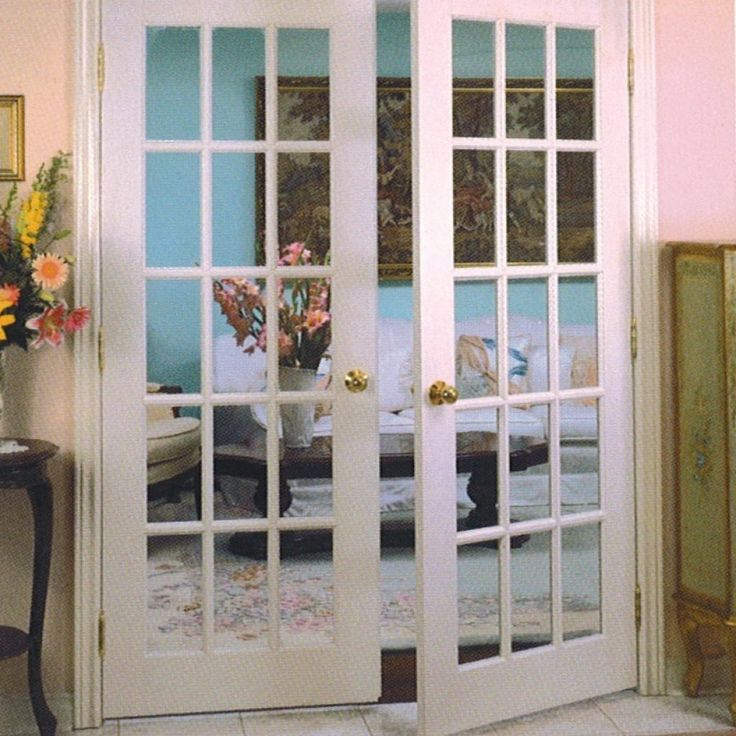 French Door Hardware Interior