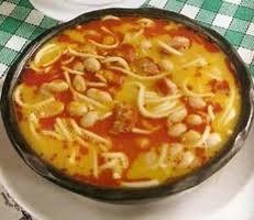 comida chilena - porotos con rienda