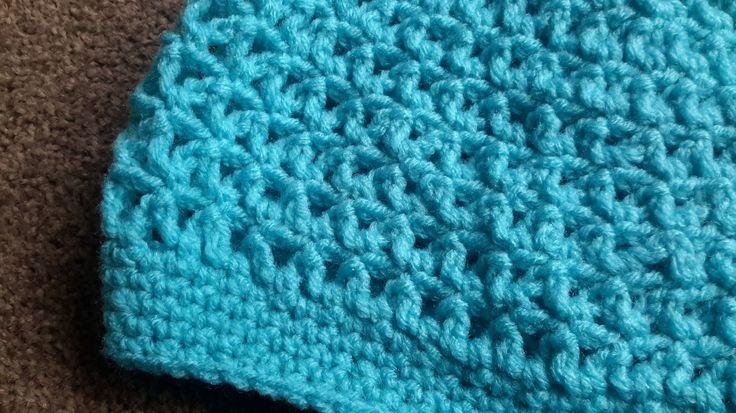 Zig Zag Crochet Hat - Summer Hat
