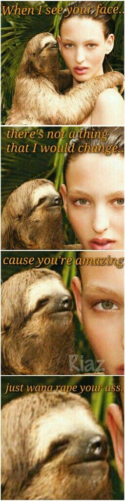 Bruno sloth.
