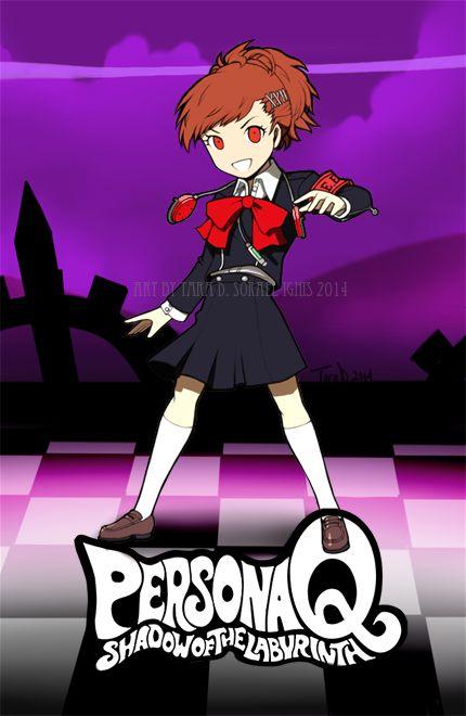 Persona Q Minako by Sorael-Ignis.deviantart.com on @DeviantArt