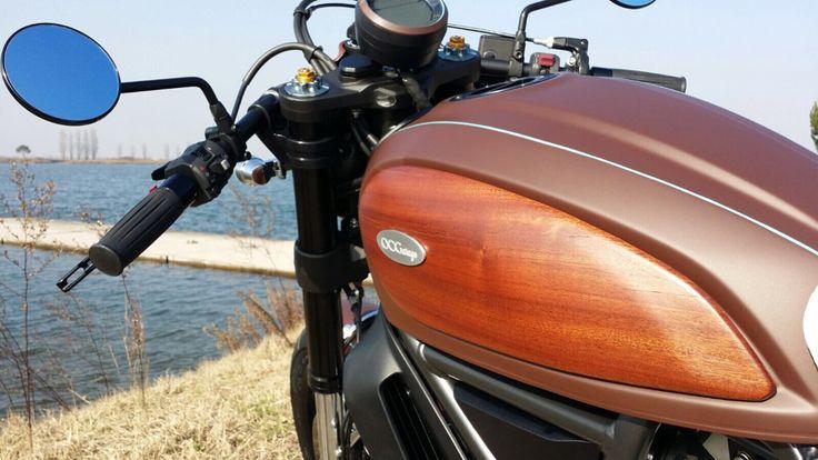 Ducati Scrambler Aqua - special by OCGarage