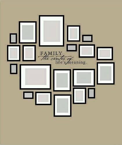 Las 25 mejores ideas sobre colgar cuadros en pinterest y - Cuadros con fotos familiares ...