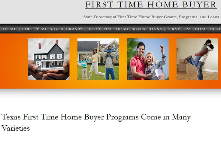 how to buy your first home in texas