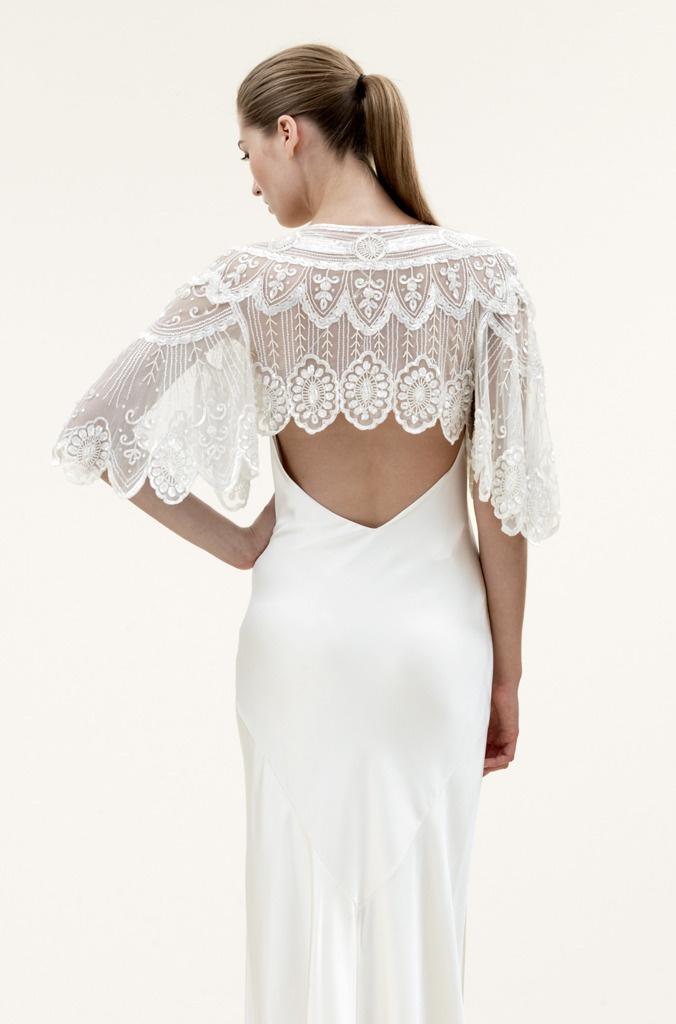 Jenny Packham- Elsa Embroidered Bridal Jacket