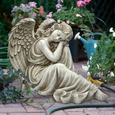 Design Toscano Harmony at Ease Angel Statue