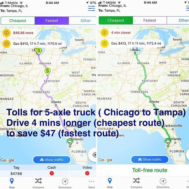 93b2f83df97b0464597b9f6eb5983363 - How Do I Get Google Maps To Avoid Toll Roads