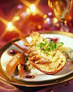 #Recette du #homard grillé de #Noël