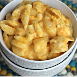 Crock Pot Mac & Cheese - this is an 8.  Good, easy and finally a decent, Crockpot mac 'n' cheese recipe.