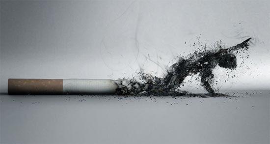 Anti-smoking advertise