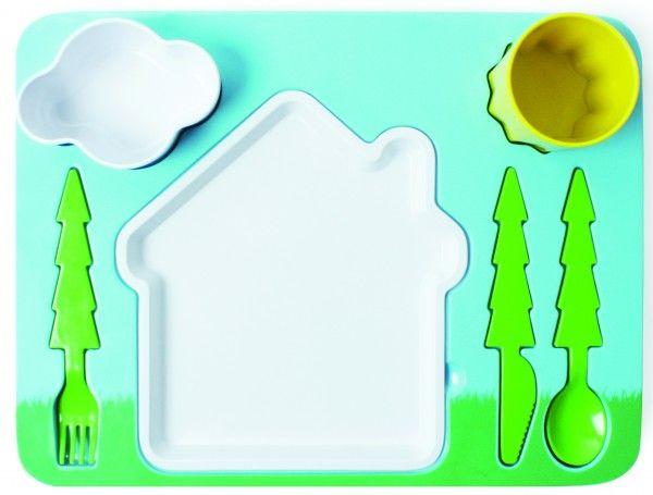 Set servire masa pentru copii (6 piese). Recomandă-l prin Happy Share si primesti 4% comision din vanzarile generate.