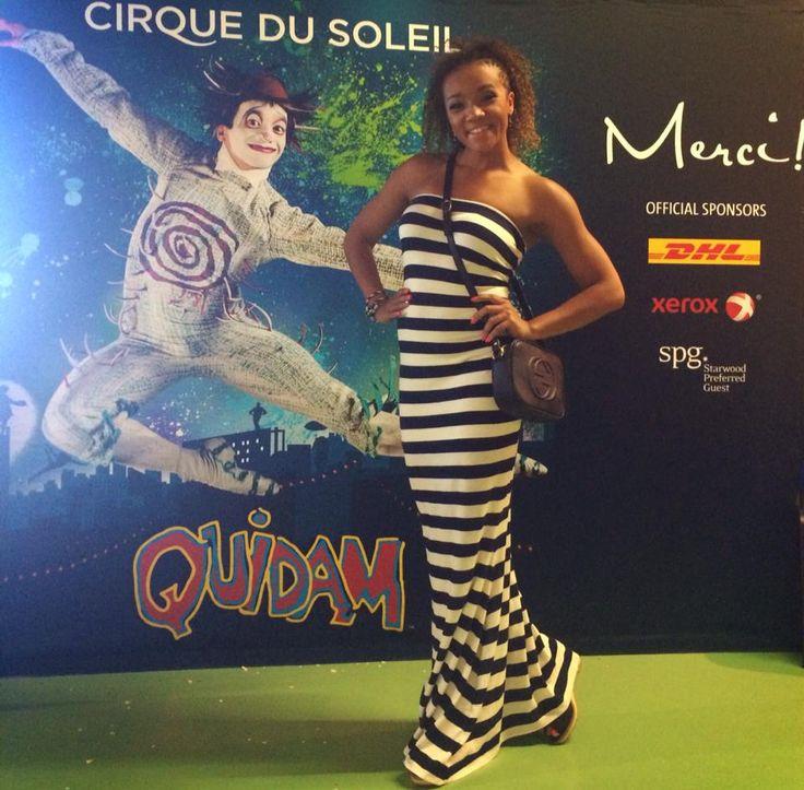Katrin - strapless maxi dress. Looking amazing! <3