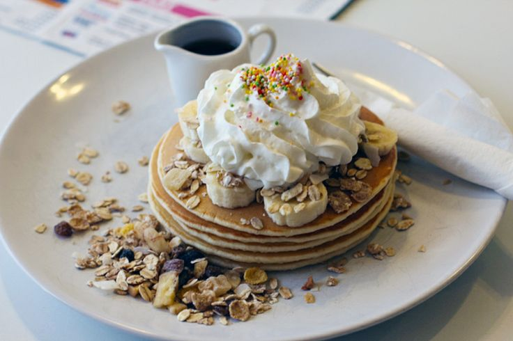 Amazing pancakes with crazy ingredients