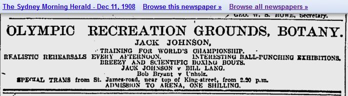 The Grounds were renamed Olympic Recreation Grounds in 1906