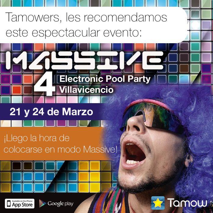 Los mejores eventos los #Recomendados en Tamow. Recuerda participar en el #Concurso por dos boletas a la gran fiesta.