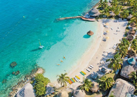 Isla Múcura (Colombia), un lugar perfecto para dos