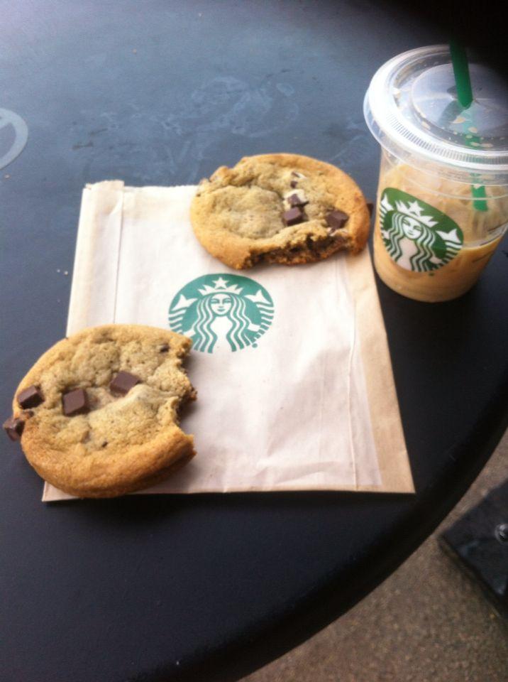 Det er fedt og være på  Starbucks og det er godt