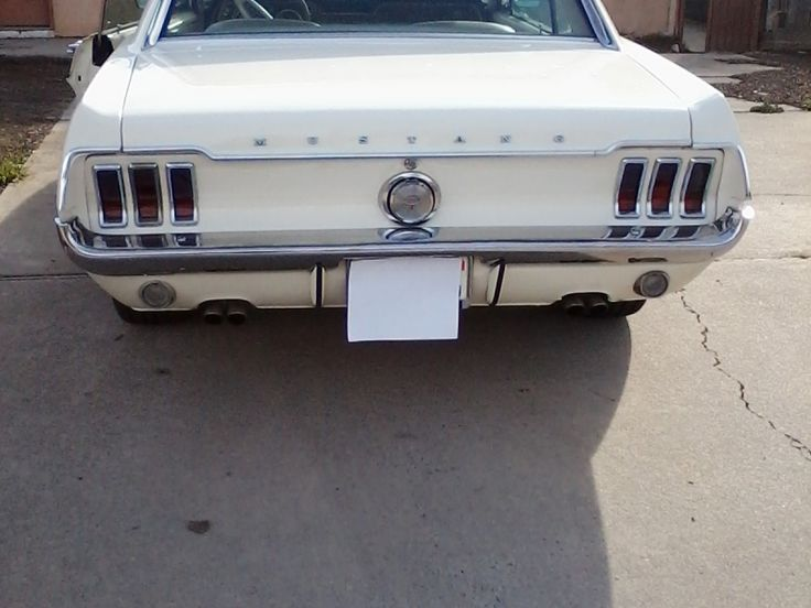 Ford Mustang coupe GT - 1968