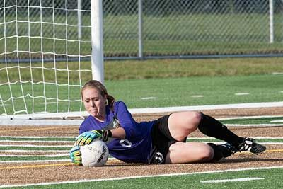 Amanda Garvin turned aside seven shot to claim her first collegiate shutout and lead the Bemidji State Soccer team to a 2-0 victory over Missouri Western State Sept. 6, 2013. Check our entire photo gallery: http://www.bsubeavers.com/wsoccer/photos/2013/397/