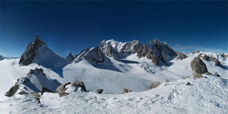 Maior fotografia panorâmica do mundo foi tirada no Monte Branco - PÚBLICO