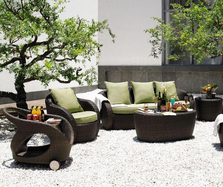 26 best Salon du0027extérieur images on Pinterest En vogue, Furniture