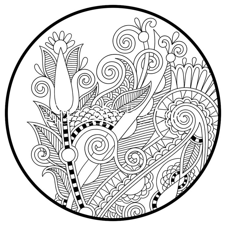 Coloring Pages For Adults Stock Photos Images Pictures