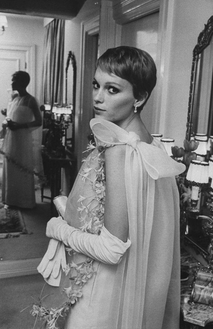 Mia Farrow's pixie. I've done it before and I'll do it again when I hit my weight goal...