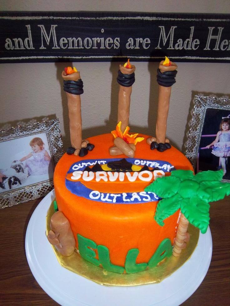 Survivor Thailand Birthday Cake
