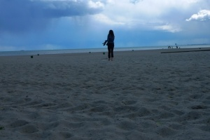 beauty on the sands of Gdynia