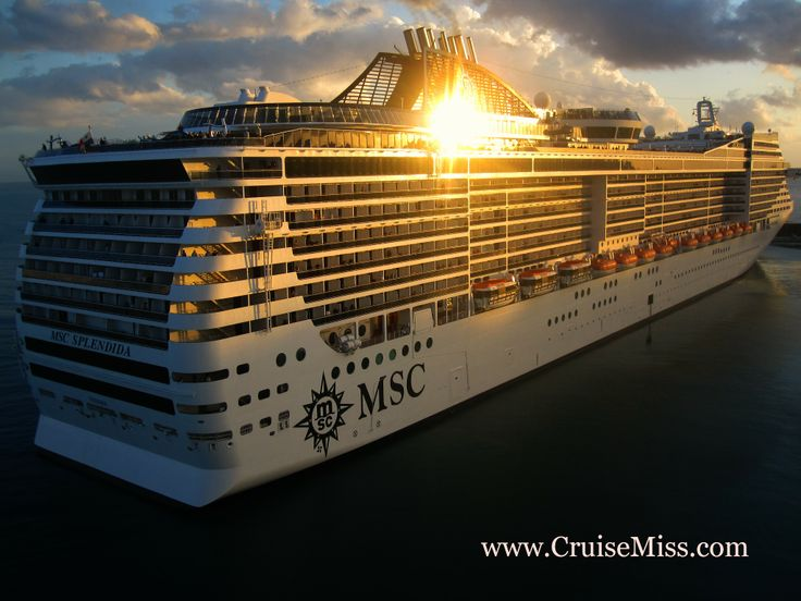 The #spectacular #MSCSplendida - captured so well by #CruiseMiss!