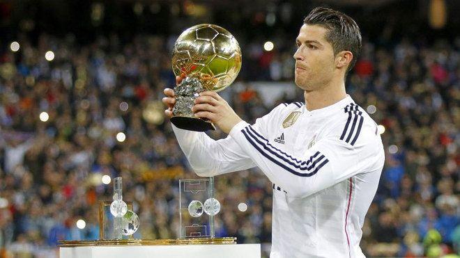 Ronaldo: Masuk Akal Saya Favorit Ballon d'Or