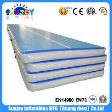 body building korea dwf yoga mat gym inflatable air mattress tumble track inflatable