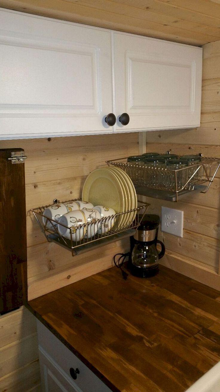 Awesome 85 DIY Travel Trailers Camper Storage Organization Ideas https://homevialand.com/2017/09/13/85-diy-travel-trailers-camper-storage-organization-ideas/