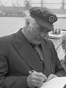 Howard Lang as Captain William Baines in the Onedin Line