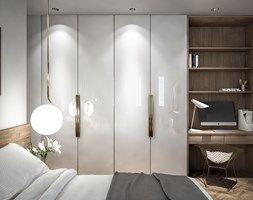 Mieszkanie na Powiślu - Sypialnia, styl eklektyczny - zdjęcie od Wiktoria Ginter