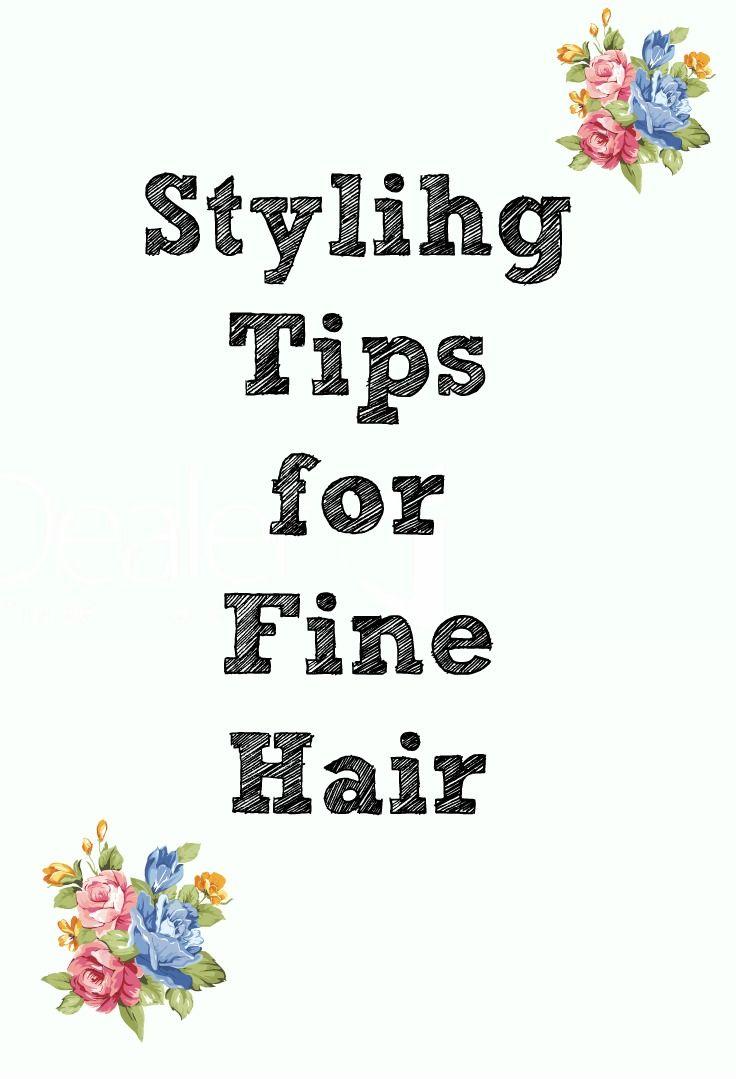 Styling tips for fine hair.  #tryandtell #sponsored