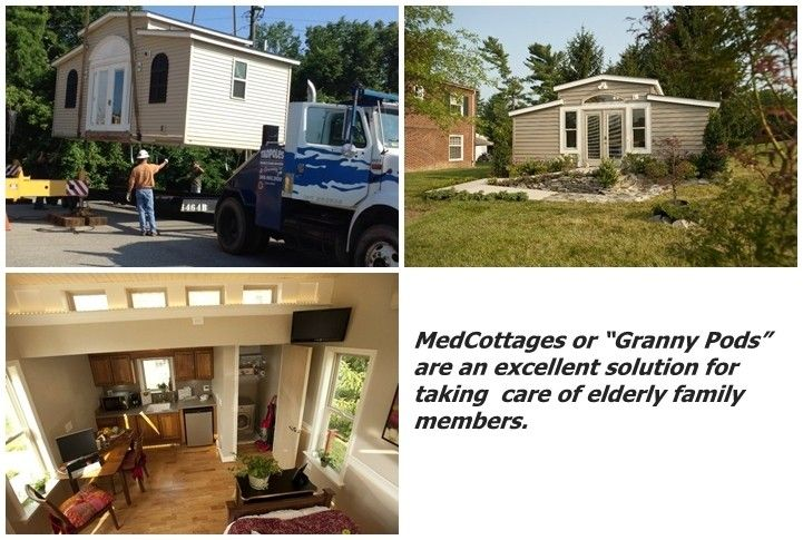 Best 25 granny pod ideas on pinterest guest cottage for Small houses for seniors
