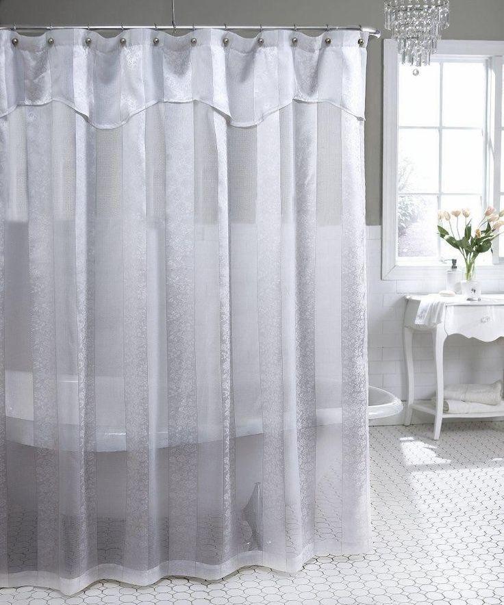 best 25 lace shower curtains ideas on pinterest rustic shower curtains curtain styles and. Black Bedroom Furniture Sets. Home Design Ideas