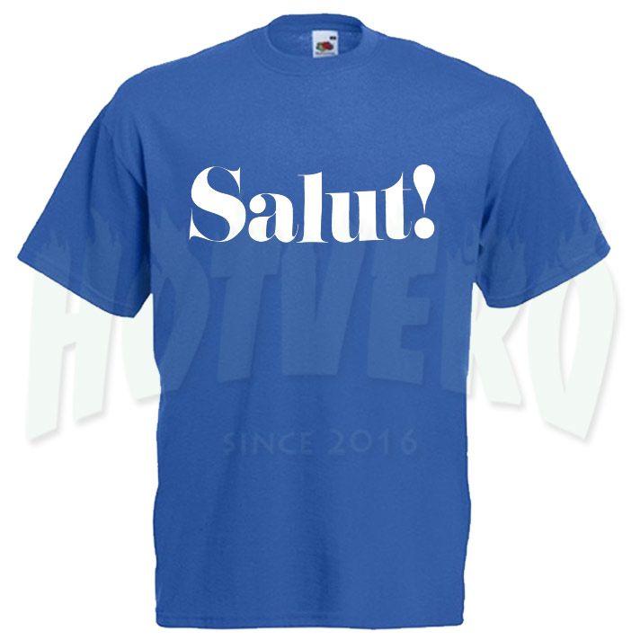 Cute Salut Slogan T Shirt, Cheap Urban Clothing //Price: $14.00//     #cheapurbanclothing