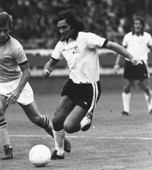 George Best, playing for Fulham